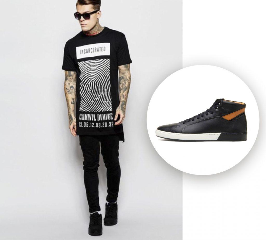 tendência de moda masculina